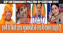 uttar pradesh bjp cm candidate online poll
