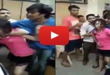 drunk girl mumbai, drunk girl meme, drunk girl slapped, drunk girl slapped police, nashe me dhut ladki, नशे में धुत लड़की ने किया हंगामा, www.aagazindia.com, aagaz india news