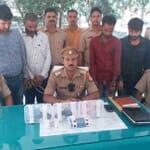 kachwa police ne pakde 4 shatir chor